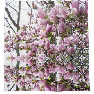 Rosa Magnolien-VerrücktheitsDuschvorhang Duschvorhang