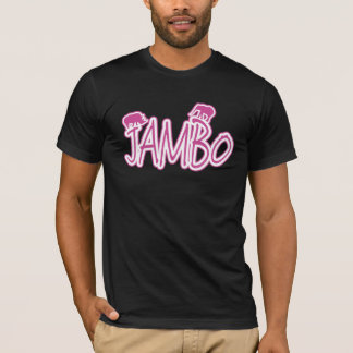 Rosa Männer Jambo Suaheli hallo T-Shirt