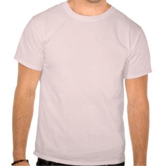 Rosa mattierter Krapfen mit besprüht T-Shirt