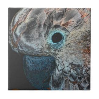 Rosa Moluccan Cockatoo-Papageien-Tier-Kunst Kleine Quadratische Fliese