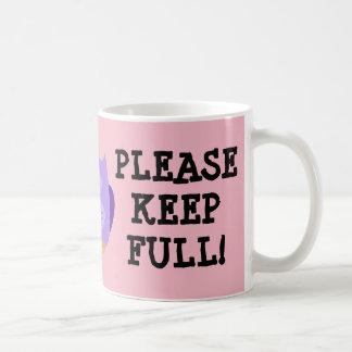Rosa neue Mama-Tasse Tasse