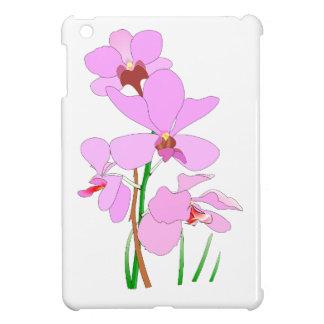 Rosa Orchideen-Blumen iPad Mini Hülle