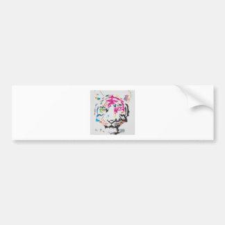 Rosa Panther-Verrücktheit Autoaufkleber