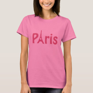 Rosa Paris-Logo-T - Shirt