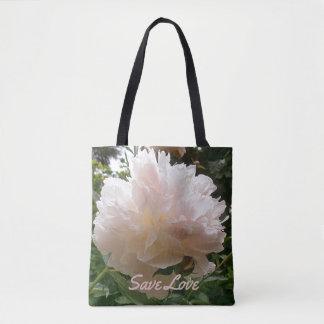 Rosa Pfingstrose Blossom.text.