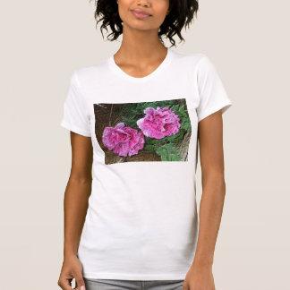 Rosa Pfingstrosen-T - Shirt