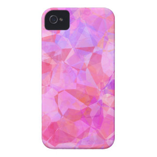 Rosa Polygon iPhone 4 Fall Case-Mate iPhone 4 Hülle