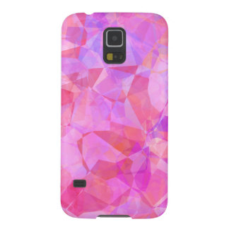 Rosa Polygon-Samsung-Galaxiekasten Galaxy S5 Hüllen