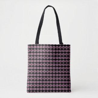 Rosa-Retro-Hoch-Art-Mod-Schulter-Tasche-Taschen