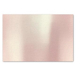 Rosa Rosen-Gold erröten metallisches Pulver Seidenpapier