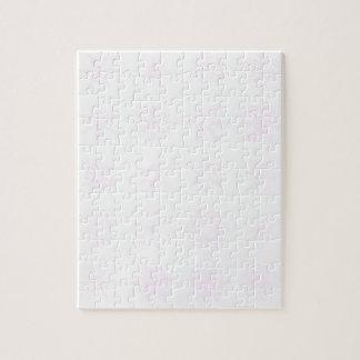 Rosa Schneeflocke-Hintergrund Puzzle
