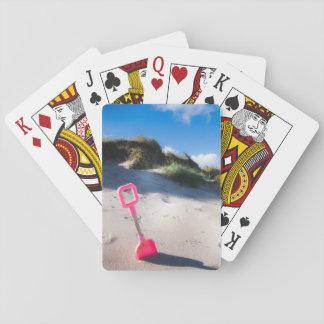 Rosa Spaten-Spielkarten Kartendeck