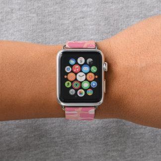 Rosa Tarnung. Ihre Camouflage Apple Watch Armband