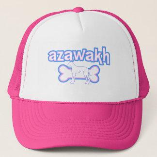 Rosa u. blaues Azawakh Truckerkappe