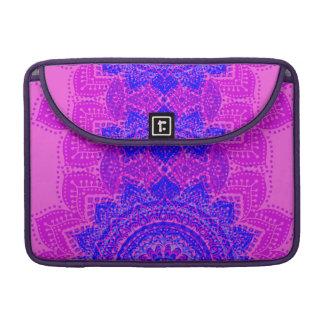 Rosa u. lila indische Muster macbook Hülse MacBook Pro Sleeves