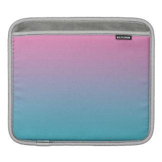 Rosa u. Türkis Ombre Sleeve Für iPads