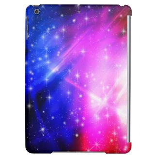 Rosa und blauer Ipad Kasten mit Sternen