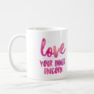 """Rosa Unicorn """"Liebe Tasse Ihres inneren Unicorn"""""""