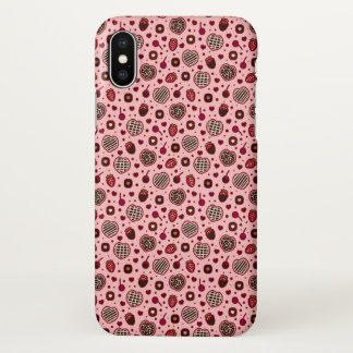 Rosa Valentine-süße Leckereien kopieren iPhone X iPhone X Hülle