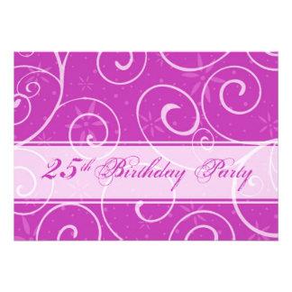 Rosa Wirbels-25 Geburtstags-Party