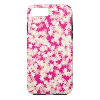 Rosa Zitronen-Creme-Gelb-Neonsterne iPhone 8/7 Hülle