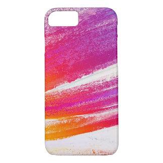 Rosa zu den lila verblaßten Farben-Anschlägen iPhone 8/7 Hülle