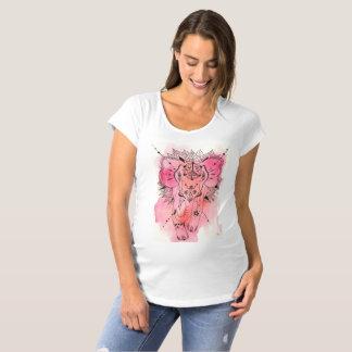 rose elephant Bodhi Schwangerschafts T-Shirt