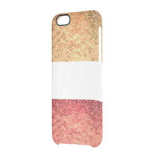 Rosé Gold Iphone heiratet Durchsichtige iPhone 6/6S Hülle