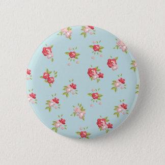Rose Runder Button 5,1 Cm