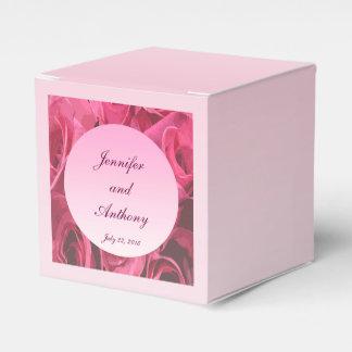 Rosen-abstrakte Hochzeit Geschenkkartons