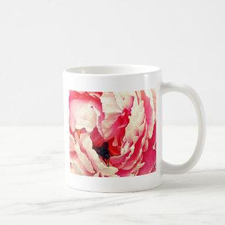 Rosen-Fliegen-Farbentwurf Tasse