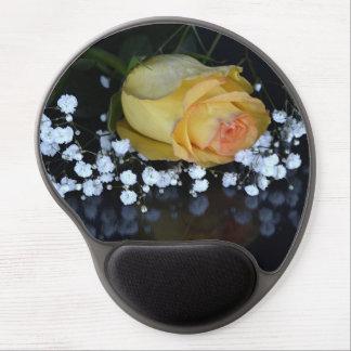 Rosen-gelben Gel Mousepad