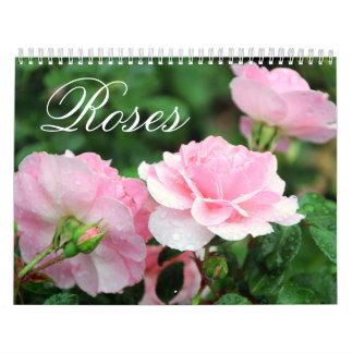 Rosen-Gewohnheits-Kalender Abreißkalender