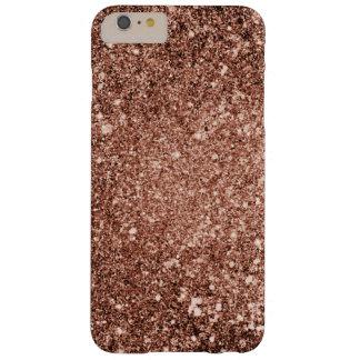 Rosen-GoldGlitter-Telefon-Kasten Barely There iPhone 6 Plus Hülle