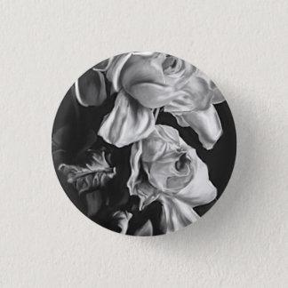Rosen-Knopf Runder Button 2,5 Cm