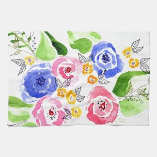 Rosen Küchenhandtücher