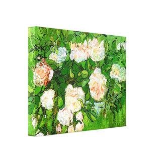 Rosen-Leinwand-Druck Van Gogh rosa Leinwanddruck