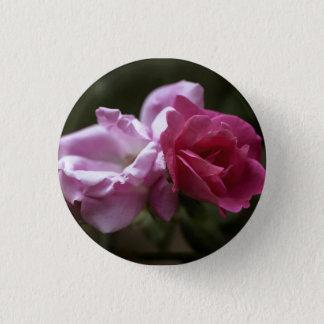 Rosen Runder Button 2,5 Cm