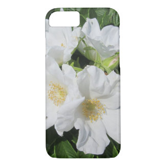 Rosen-Strand-Pflaumen-Weiß iPhone 8/7 Hülle