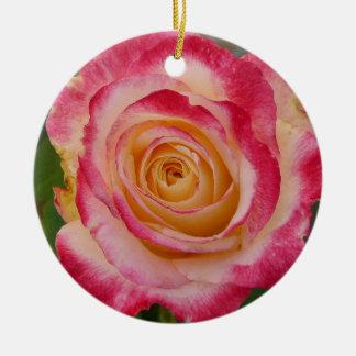 Rosen-Verzierung Rundes Keramik Ornament