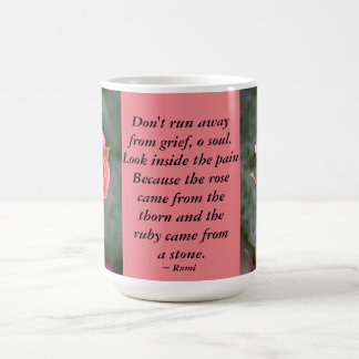 Rosenknospe… laufen nicht weg kaffeetasse