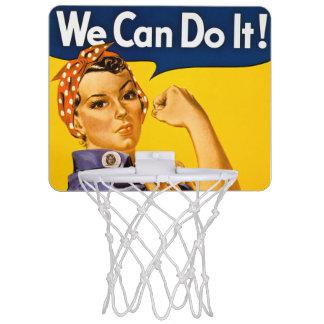 Rosie der Nieteneinschläger können wir ihn tun Mini Basketball Ring