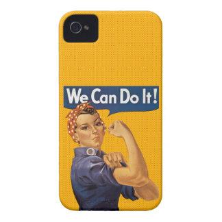Rosie der Nieteneinschläger können wir ihn tun rot iPhone 4 Hülle