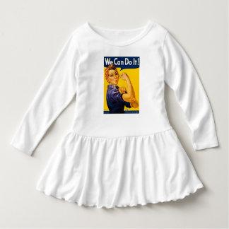 Rosie Nieteneinschläger Vintage Retro können wir Kleid