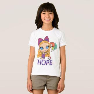 """Rosie u. Rockette """"HOFFNUNG"""" der T - Shirt"""