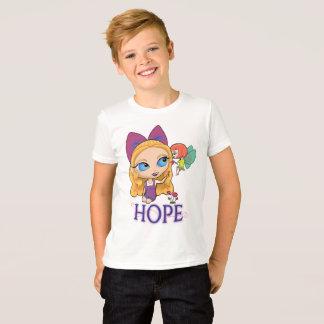 """Rosie u. Rockette """"HOFFNUNG"""" der T - Shirt Jungen"""