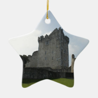 Ross-Schloss, Killarney, Irland Keramik Stern-Ornament