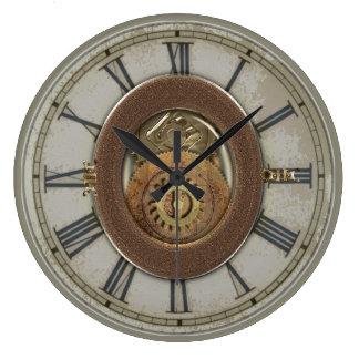 Rostige Vintage Zähne Steampunk Uhren