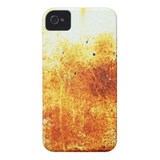 rostiger brauner Kunstbrand-Papierrauch abstrakte Case-Mate iPhone 4 Hülle