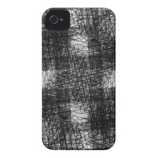 rostiger brauner Kunstbrand-Rauch abstrakter iPhone 4 Cover
